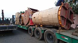 Cho thuê xe tải vận chuyển hàng hóa từ Nam ra Bắc - Vận chuyển lò đốt rác