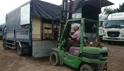 Xe tải và vận chuyển hàng hóa an toàn